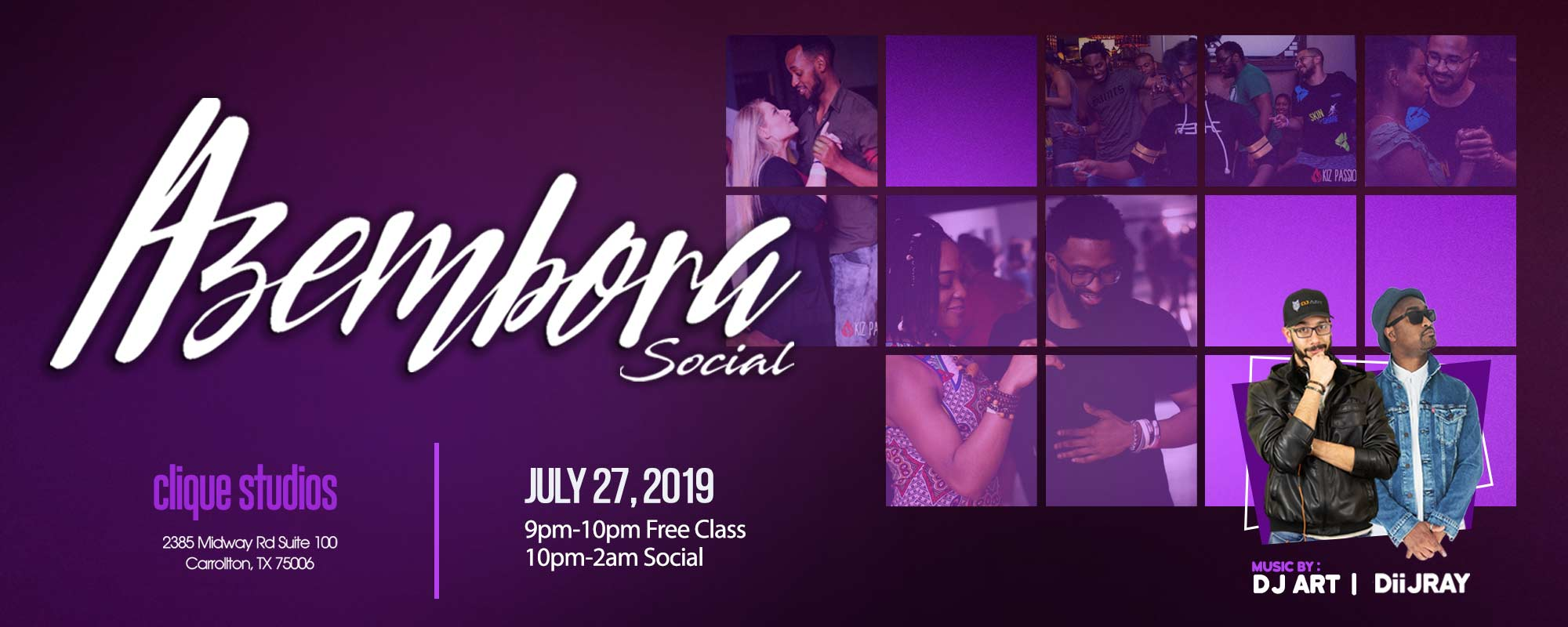 Azembora Kizomba Dance in Dallas