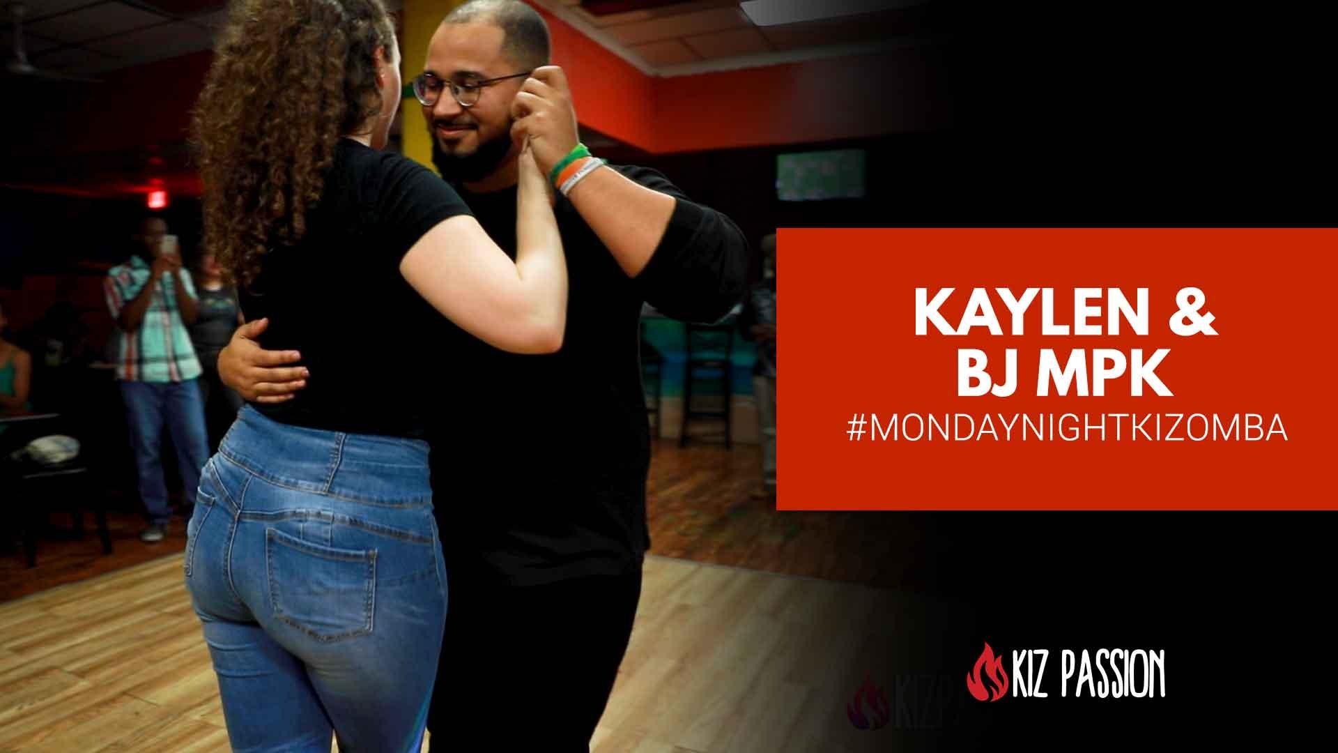 Kaylen & BJ MPK Demo from #MondayNightKizomba Social
