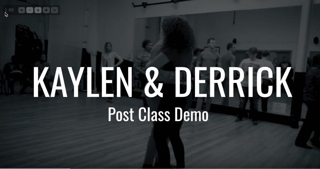 Kaylen & Derrick MPK UrbanKiz Demo